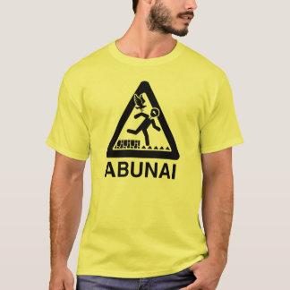 Abunai Shirt, Clear Logo T-Shirt