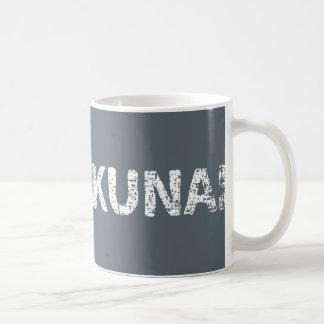 Abunakunai (no soy peligroso) Romaji - blanco Taza De Café
