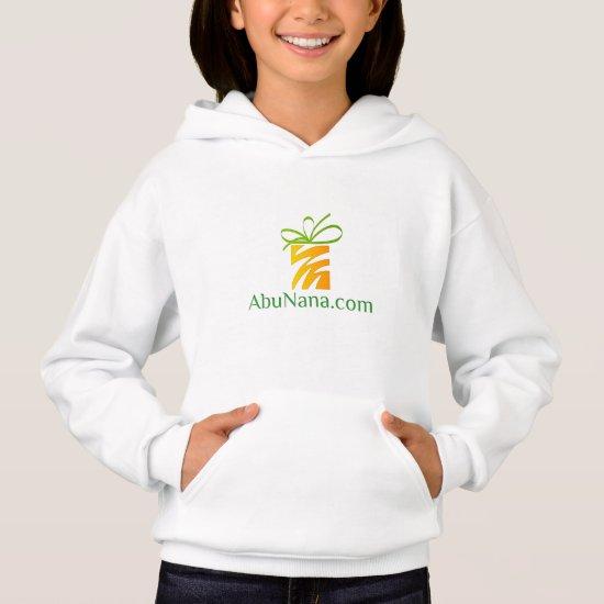 AbuNana.com Logo Site Lead With Your Heart  Hoodie