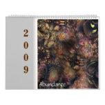 Abundance 2009 flora calendar