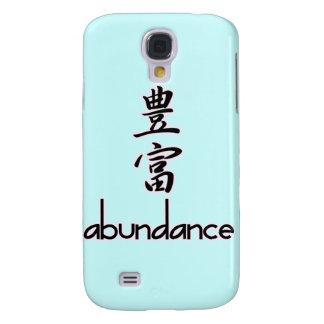 Abundance and Riches, in Kanji Galaxy S4 Case