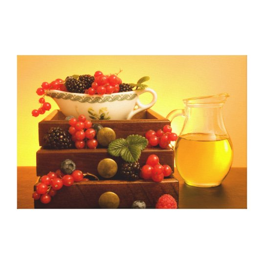 Abundance - Berries Canvas Print