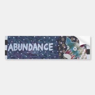 Abundance Bumper Stickers