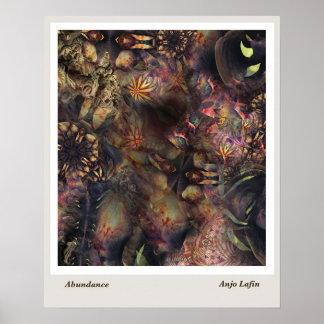 Abundance by Anjo Lafin Poster