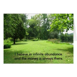 Abundance Greeting Cards