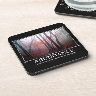 Abundance Custom Coaster