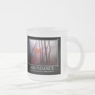 Abundance Custom Mug