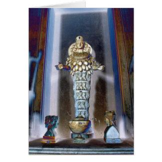 Abundance: Goddess Diana of Ephesus Greeting Card