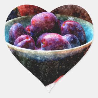 Abundance Heart Sticker