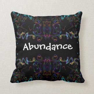 Abundance: Modern Art Pillow