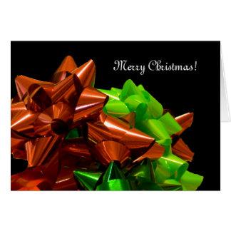 Abundance of Bows Christmas Card