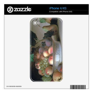 Abundance of Fruit Decal For iPhone 4S