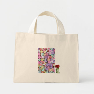 Abundance of sweet love for valentines day mini tote bag