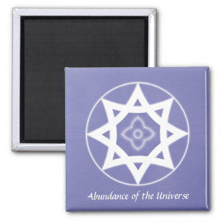 Abundance of the Universe 2 Inch Square Magnet
