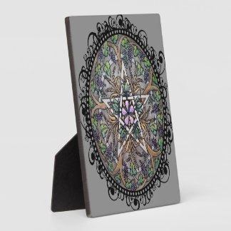 "Abundance Pentacle 5.25""x5.25"" Photo Plaque"