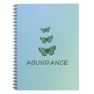 Abundance Spiral Notebook