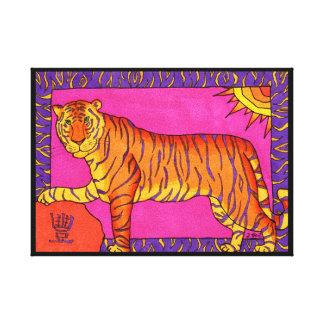 Abundance Tiger Canvas Print
