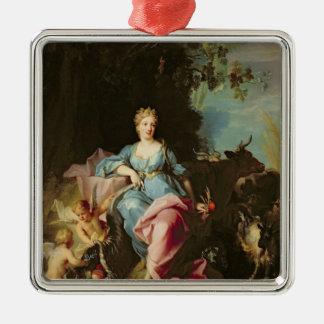 Abundancia, 1719 adorno
