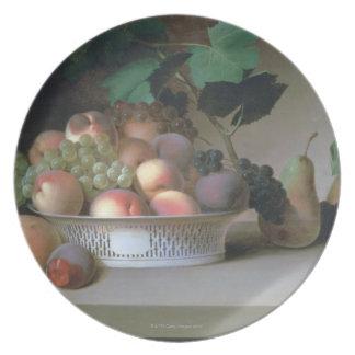 Abundancia de fruta plato