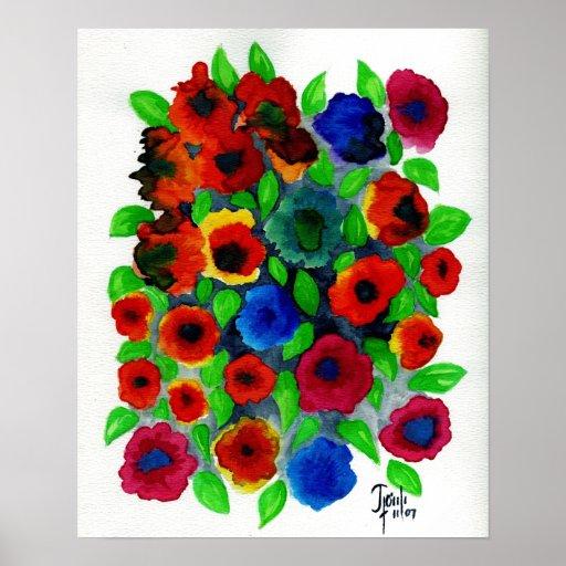 """Abundancia de las primaveras: 15"""" x 19,41"""" impresi póster"""
