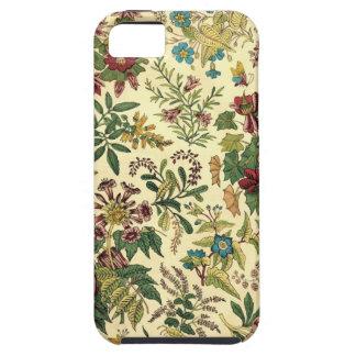 Abundancia floral pasada de moda iPhone 5 cobertura