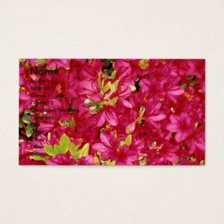 Abundant Azaleas Business/Profile  Card