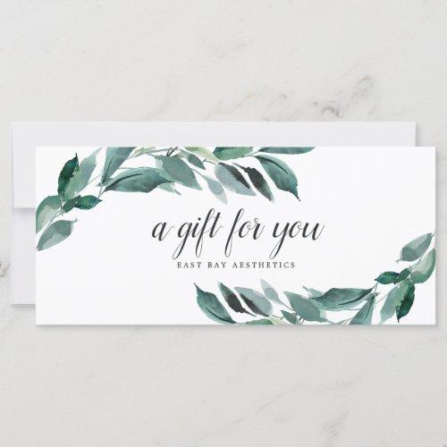 Abundant Foliage Gift Certificate