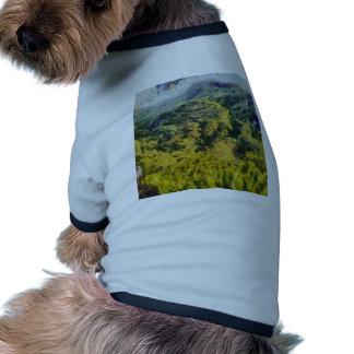 Abundant greenery doggie t shirt
