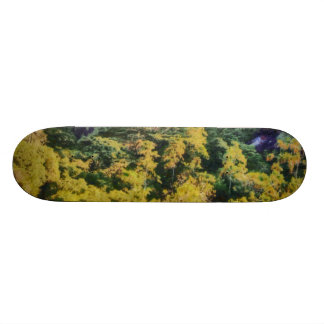 Abundant greenery skate board decks