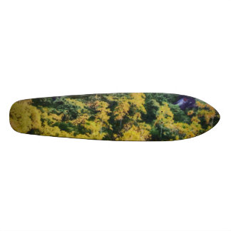 Abundant greenery skateboard deck