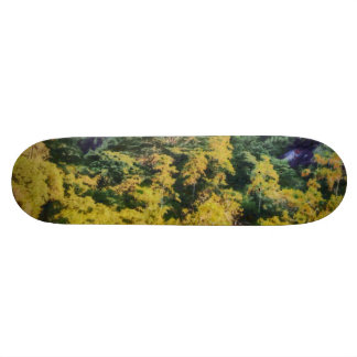 Abundant greenery skateboard decks