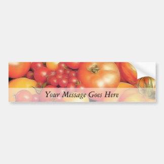 Abundant Harvest - Heirloom Tomatoes Bumper Sticker