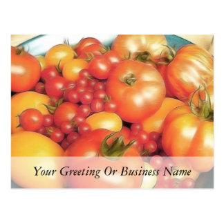 Abundant Harvest - Heirloom Tomatoes Postcard