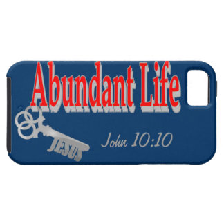 Abundant Life: The Key - v1 (John 10:10) iPhone 5 Cases