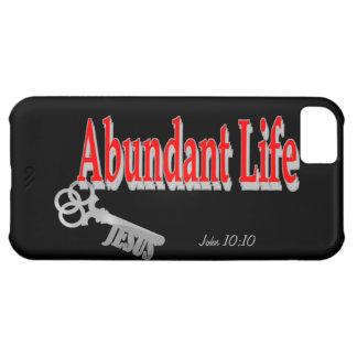 Abundant Life: The Key - v1 (John 10:10) iPhone 5C Cover