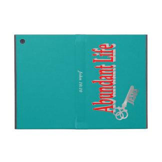 Abundant Life: The Key - v1 (John 10:10) Cover For iPad Mini