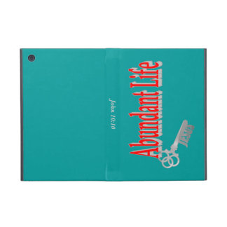 Abundant Life: The Key - v1 (John 10:10) iPad Mini Covers