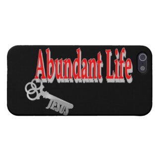 Abundant Life: The Key - v1 (John 10:10) iPhone 5/5S Covers