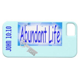 Abundant Life: The Key - V2 (John 10:10) iPhone 5 Cover