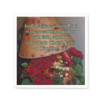 Abundant with Faith Napkin