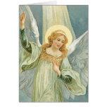 Abundante - ángel de guarda de la generosidad felicitacion