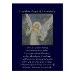 Abundante - ángel de guarda de la generosidad tarjetas postales