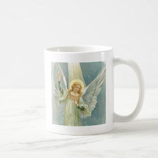 Abundante - ángel de guarda de la generosidad taza