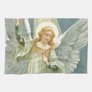 Abundante - ángel de guarda de la generosidad toalla de mano