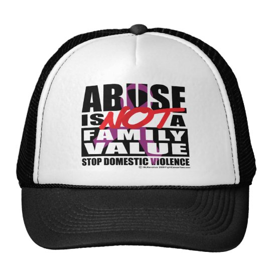 Abuse Is Not A Family Value Trucker Hat