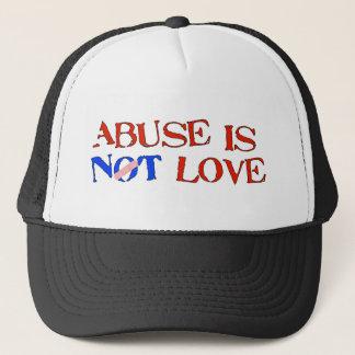 Abuse Is Not Love Trucker Hat
