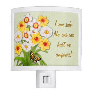 Abuse Survivors Spring Daffodils Night Light