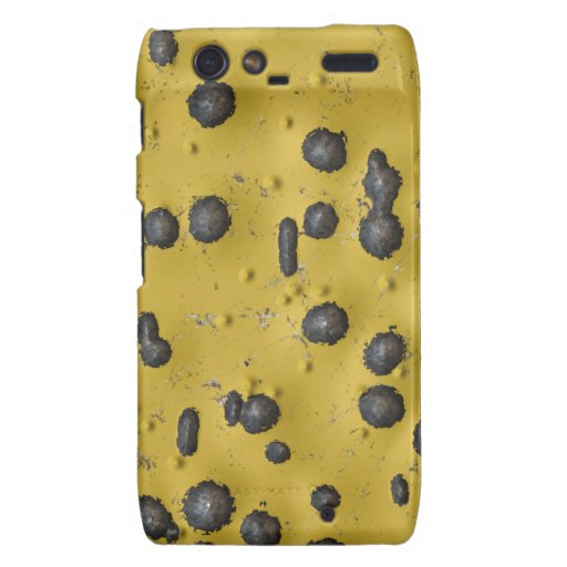 Abused Metal Droid Razr Barely There Case Droid RAZR Case