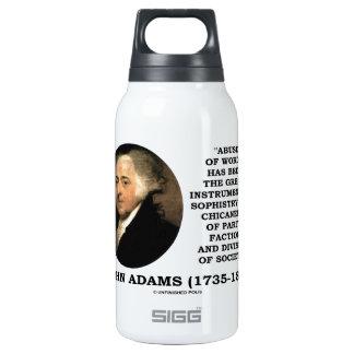 Abuso de John Adams de la trapacería de la sofisma