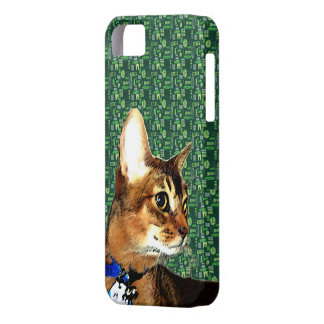 Aby-a-Day - Tikigreen iPhone 5 Case with Gun-Hee